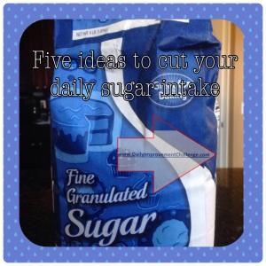 5 Ideas to Cut Back on Sugar
