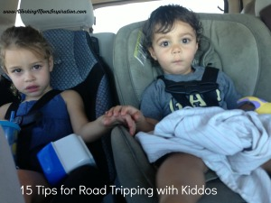 15 Tips for Road Tripping with Kiddos